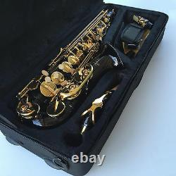 BLACK ALTO SAX BRAND NEW Eb STERLING Saxophone With Case Special