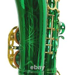 HOLIDAY SALE! Sky Green Alto Saxophone w Backpackable Case LIMITED TIME