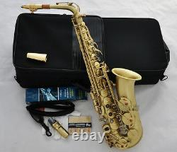 Professional Brushed 54 Reference Alto Sax Saxophone High F# Free Metal Mouth
