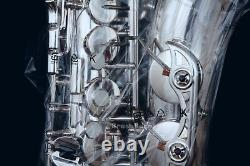 YAS-62S 04 Silver Plated Alto Saxophone Free Shipping